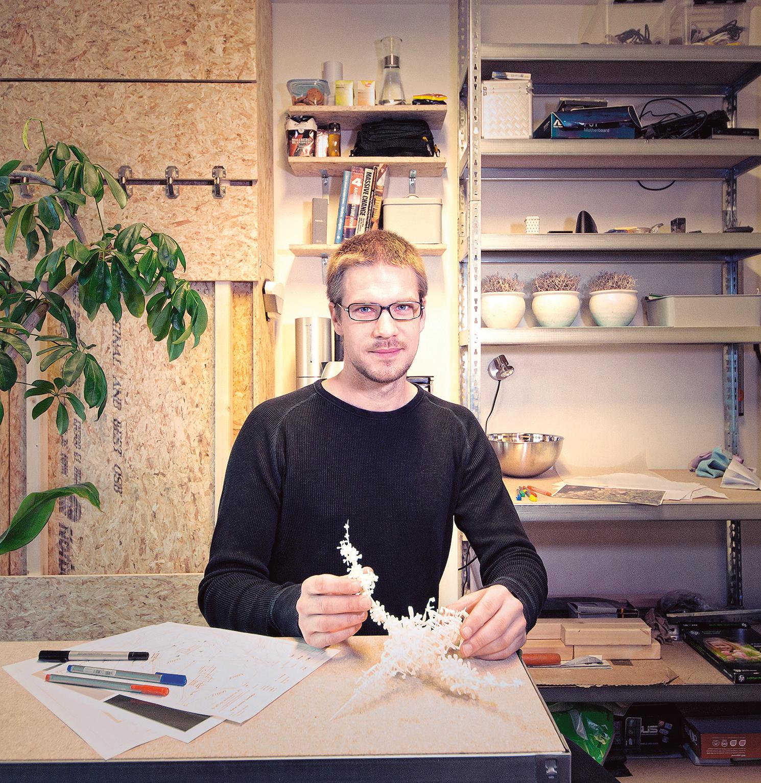 Arkitekt Magnus Bratfoss. Foto: Andreas Melgård.