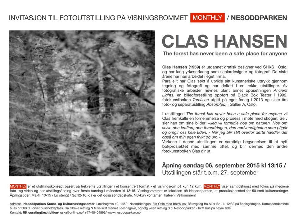 MONTHLY: Invitasjon til Clas Hansen