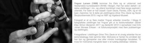 Foto av Yngvar Larsen i oktober