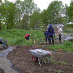 Under dugnaden til Miljøhagen 31. mai 2016. Foto: Miljøhagen.