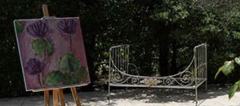 Malekurs i Provence med Vibeke Lunel.