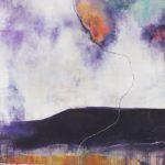 """""""In Transit"""", 100x100 cm av Vibeke Lunel"""