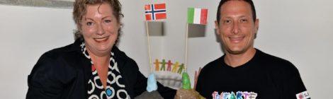 Tre kunstnere smykket seg i Tolfa